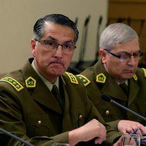 """General Mario Rozas justifica detenciones de carabineros de civil en autos particulares: """"Está debidamente autorizado"""""""
