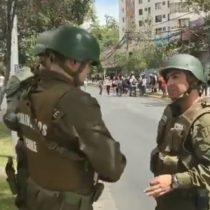 Registran orden de capitán de Carabineros a subalternos para ocultar identidades en manifestaciones