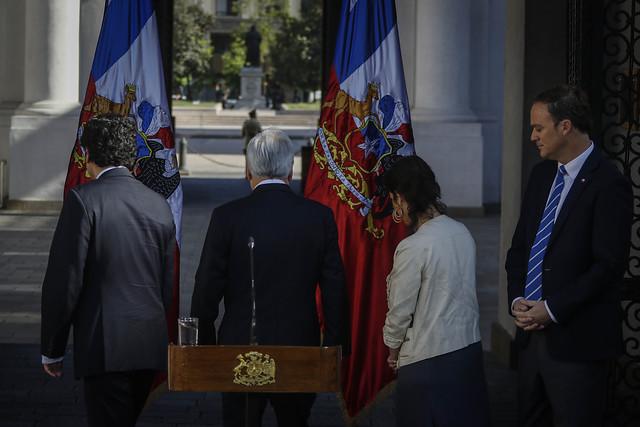 Piñera sigue en caída libre y anota un 9,1% en la encuesta Activa Research