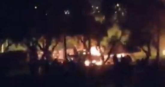 Gobierno se querella por ataque incendiario a subestación de CGE en Copiapó