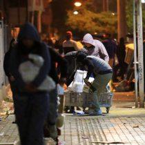 Carabineros detuvo a 187 saqueadores: Quilicura fue el epicentro de los desmanes nocturnos
