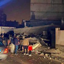 Sismo de magnitud 6,4 sacude Albania y provoca el derrumbe de un edificio