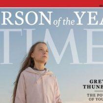 Greta Thunberg, la Persona del Año más joven en la historia de la revista Time