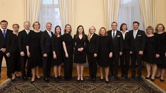 Primera ministra de Finlandia conforma gabinete compuesto en su mayoría por mujeres