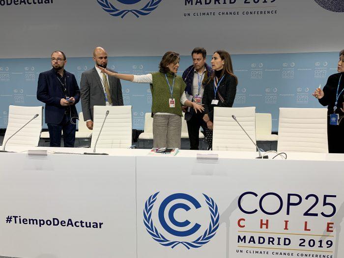 Secretario General de la ONU se reúne con ministra Carolina Schmidt y visitan instalaciones de la COP25