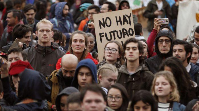 La indignación de los jóvenes, la grave crisis climática y la COP25 que comienza