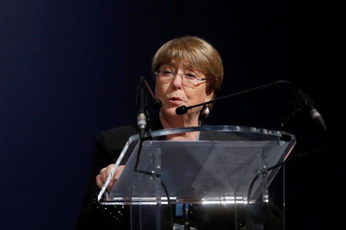 Bachelet dice que el informe de la ONU sobre violaciones a los DD.HH. está