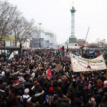 Los sindicatos franceses, en la calle contra la reforma de pensiones