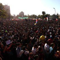 Sigue en vivo masiva manifestación en Plaza Italia desde Galería Cima
