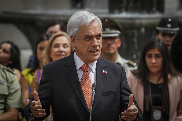 Sin ceder un centímetro: Piñera blinda a Rozas, insiste en intervención extranjera y que cambio al modelo es seguir el camino de Venezuela
