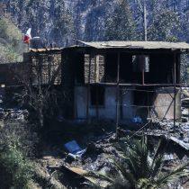 Intendente de Valparaíso aumenta a 245 las viviendas afectadas por incendio