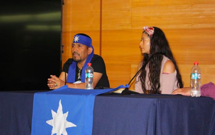 """Lonco Alberto Curamil: """"Me preocupa que los dirigentes (ambientales) y más si somos mapuche, estemos siendo criminalizados en Chile"""""""