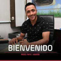 Miguel Pinto fue oficializado como nuevo refuerzo de Colo-Colo