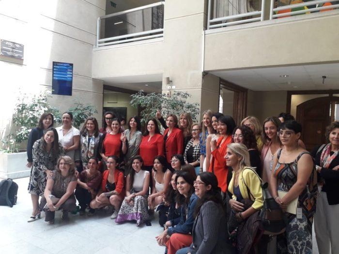 Coordinación transversal: senadoras y diputadas unen fuerzas en torno a la paridad de género