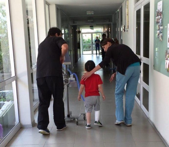 Aplican innovador test de marcha para niños con patologías respiratorias crónicas y complejas