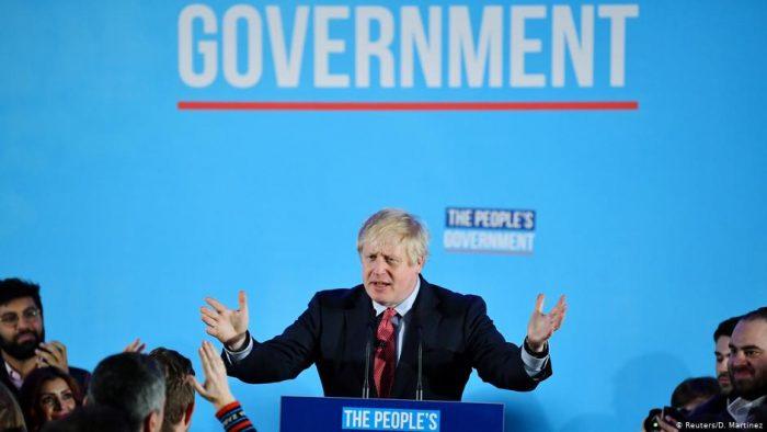 Johnson celebra victoria asegurando que se pone fin a amenaza de otro referéndum
