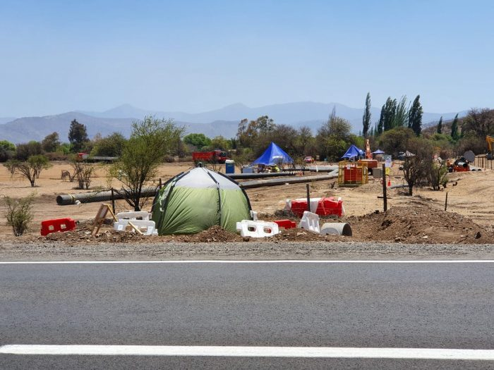 Agricultores de Quilapilún interponen denuncia ante Superintendencia de Medio Ambiente contra minera de Angloamerican y Codelco