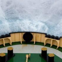 Así es el peligroso Paso de Drake, una de las zonas marítimas