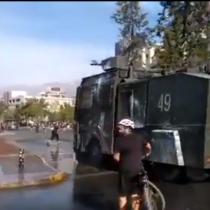 Plaza Italia: Nueva jornada de manifestaciones e incidentes a dos meses del estallido social