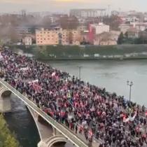 Francia: Miles de manifestantes protestan por las calles de Toulouse contra la reforma de las pensiones de Macron