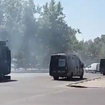 Nueva jornada de incidentes en Plaza Italia a ocho semanas de estallido social