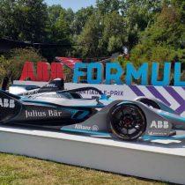 Show Car de la Fórmula E estrenó nuevo modelo en Chile