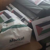 Comunidad Palestina de Chile entregó ayuda a damnificados por incendio en Valparaíso