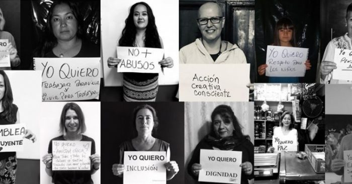 #YoMujerQuiero: la iniciativa que retrata las demandas de mujeres expondrá las imágenes este miércoles en Plaza Ñuñoa