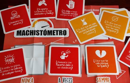 """El """"machistómetro"""", el juego para salvar mujeres de una relación violenta"""