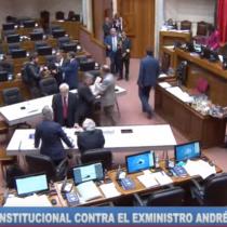 Sigue en vivo la acusación constitucional contra el exministro Chadwick en el Senado