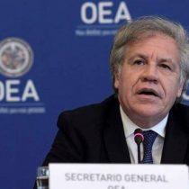 Secretario general de la OEA alimenta la tesis del enemigo internacional de Piñera y acusa injerencia de Cuba y Venezuela en el estallido