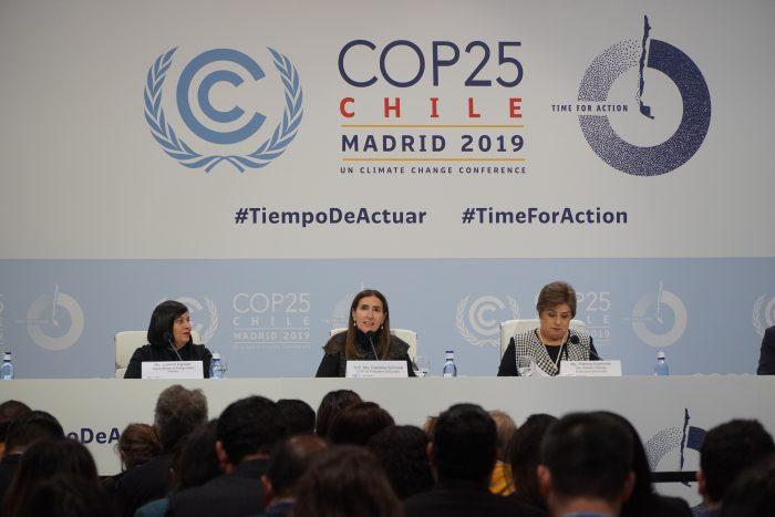 COP25: tres mujeres latinoamericanas impulsan la acción climática