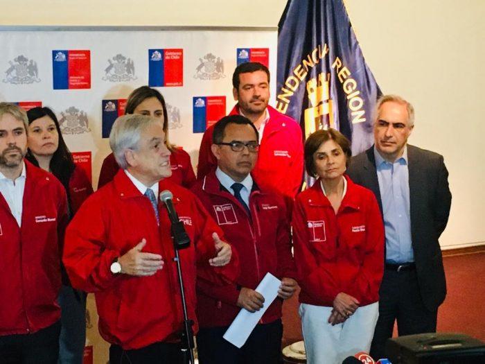 Senador Chahuán pidió apurar identificación y captura de responsables del incendio en Valparaíso