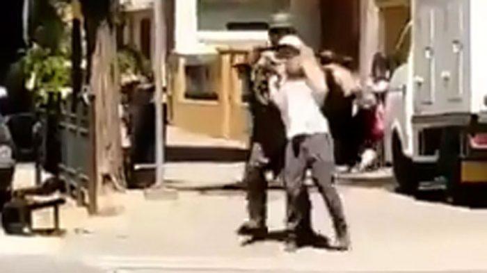 Carabinero que usó a manifestante como escudo humano en Rancagua queda con arraigo nacional