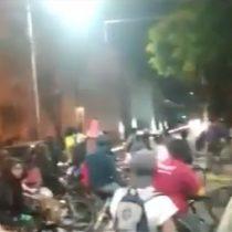 Automovilista atropelló a ciclistas en plena manifestación en Rancagua