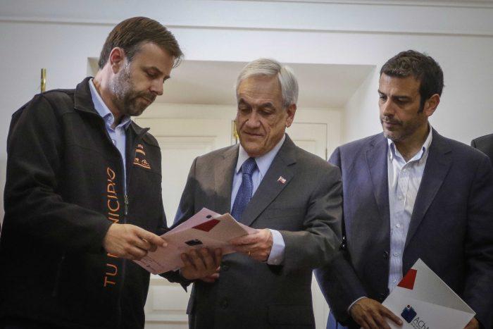 """Alcalde Germán Codina: """"Al Presidente hay gente que le aconseja mal y debiera hacer cambios profundos en su Segundo Piso"""""""