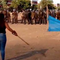Vecinos reclaman excesiva fuerza policial tras desalojo de terrenos en Cerro Navia