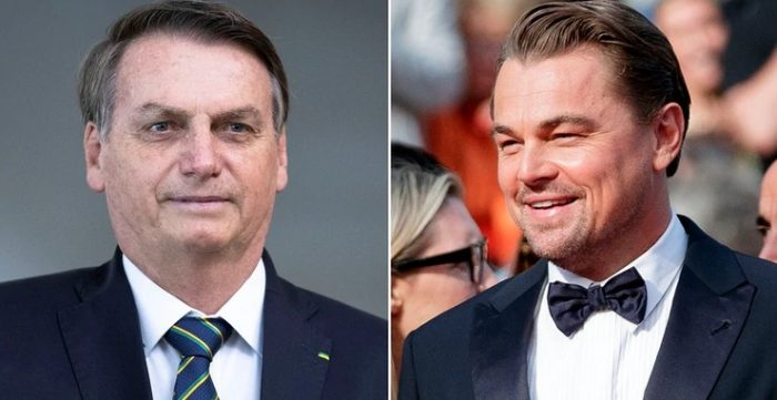 Leonardo DiCaprio respondió a Bolsonaro y negó financiar incendios en Amazonía
