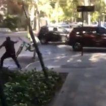 Autor de disparo a hombre en Providencia será formalizado por homicidio frustrado