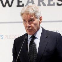 COP25: Harrison Ford acusa a Trump de