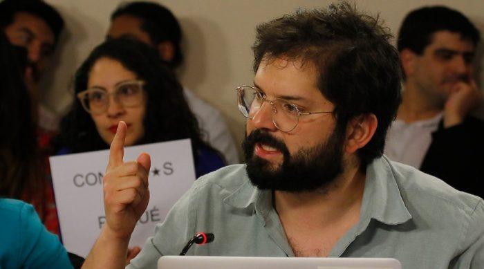 Boric después de la agresión y ante casos como el de Lorena Campillay o Gustavo Gatica: