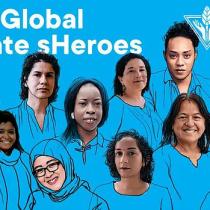 Chilena sobresale en exposición realizada por The Human Impacts Institute, sobre las heroínas que luchan contra el cambio climático