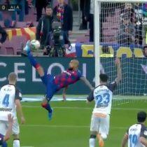 El Barcelona cierra el año con una goleada ygran actuación de Arturo Vidal