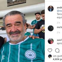 La celebración por el ascenso del Rodelindo Román de Arturo Vidal y Luksic
