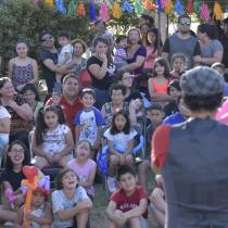Coro de niños y niñas San Joaquín y Grupo Femenino Newen celebran Navidad Latinoamericana