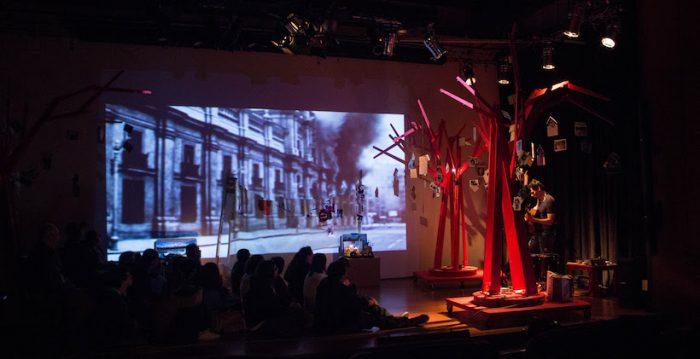 """Montaje interdisciplinario """"Willy Oddó, el exilio en la voz"""" en Centro Gam"""