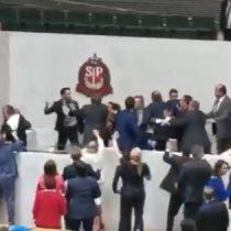 Diputado brasileño realiza dichos provocadores generando gran gresca en el parlamento de Sao Paulo