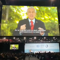 Piñera lamenta no estar en la inauguración de la COP25 pero