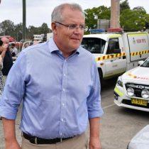 Presidente de Australia pide perdón por estar de vacaciones mientras el país ardía