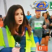 Reportera sufrió acoso mientras realizaba despacho en vivo en Estados Unidos